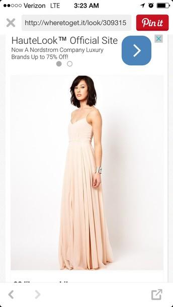 dress blush pink