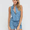 Dressing down chambray romper blue - gojane.com