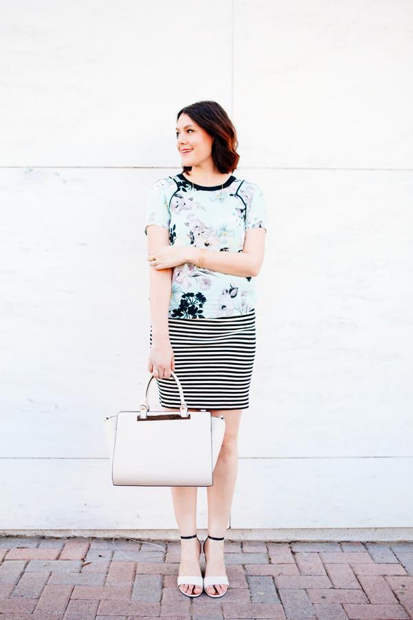 kendi everyday t-shirt skirt bag shoes jewels