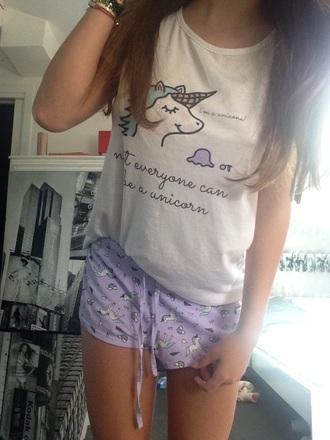 pajamas unicorn