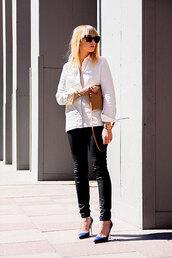 chaloth,shirt,pants,bag,shoes,jewels,sunglasses