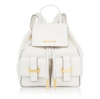 bag michael kors white backpack