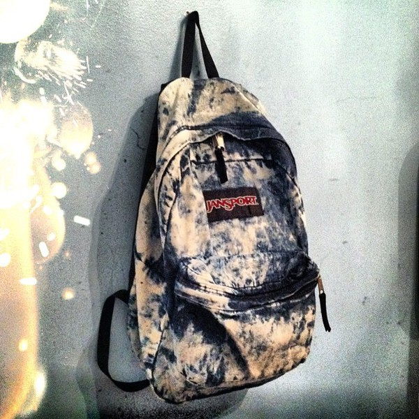 bag backpack rucksack acid wash jansport acid wash similarokaytoo