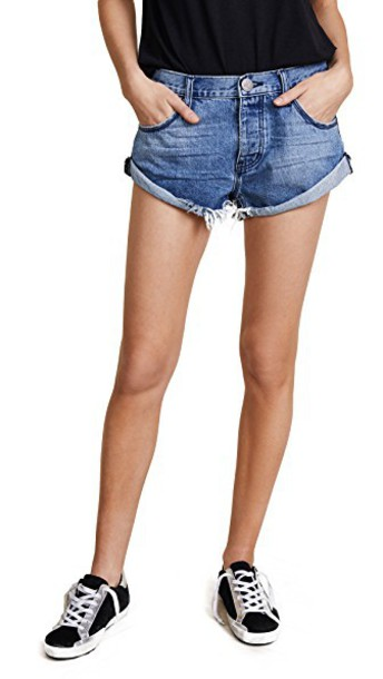 One Teaspoon shorts denim shorts denim
