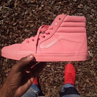 shoes pink vans custom vans vans