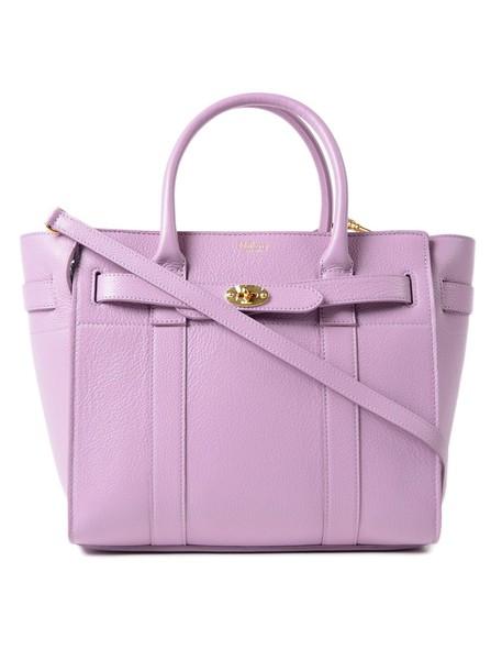 Mulberry zip bag