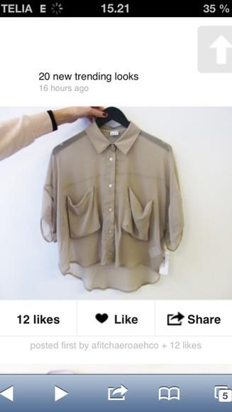 army green blouse love winterwear
