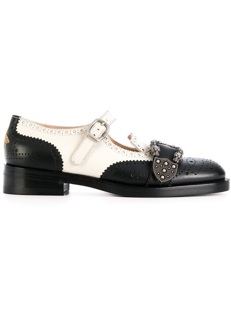 gucci brogue shoes women shoes leather suede black