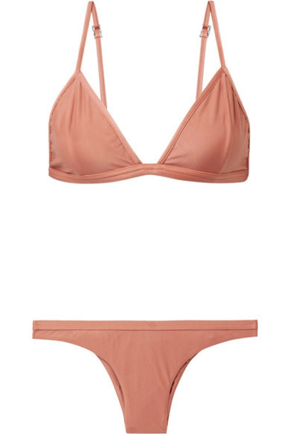 Haight bikini triangle bikini triangle rose swimwear