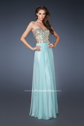 La Femme 18602 Beaded Long Dress | MagicMomentsProm.com