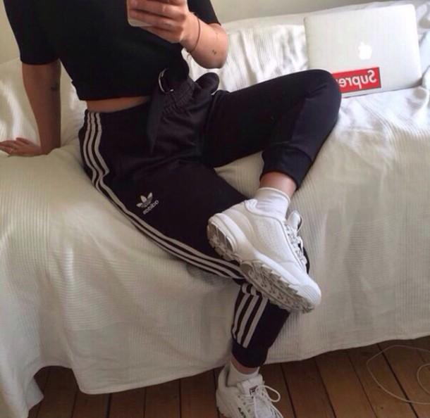 adidas pants tumblr