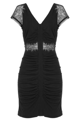dress lace black