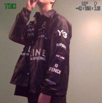 jacket designer cute alexander wang kenzo windbreaker fashion beautiful tumblr clothes black soft ghetto button down shirt fendi y-3 mens shirt celine