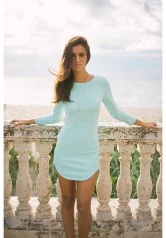 dress bodycon dress mint mint dress