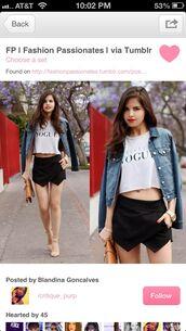 shorts,short,skirt,black,triangle,edgy,fashion,cute,tank top