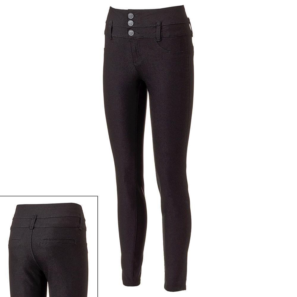 e9ed44699a YMI Hyperstretch High-Waisted Skinny Jeggings - Juniors