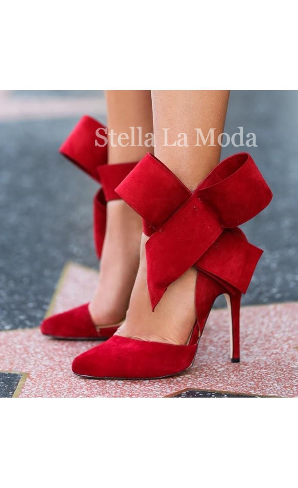 Pointed toe super high stiletto pumps