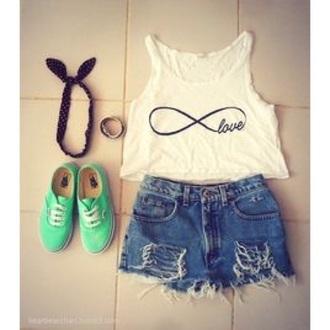 blouse love summer top summer shirt white summer top infinity tank top hippie hipster shirt style