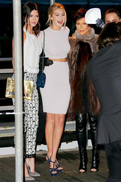 Kendall Jenner Wearing Shoes From Saint Laurent Sold On
