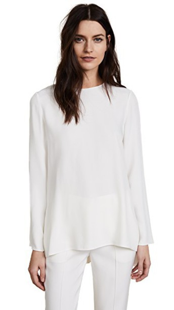 Adam Lippes tunic satin top