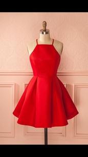 dress,red dress,red,party dress,pinterest,instagram,prom dress,red prom dress,prom,short dress,homecoming dress,dressofgirl