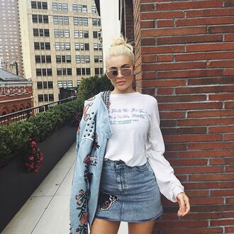 jewels sunglasses sunnies accessories accessory ny fashion week 2016 fashion trendy style kylie jenner celebrity style celebrity celebstyle for less kardashians keeping up with the kardashians