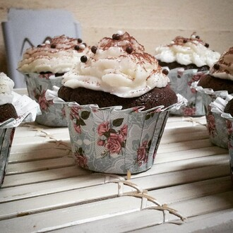 cupcake food cute lifestyle roses