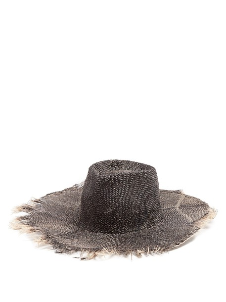 REINHARD PLANK HATS hat black