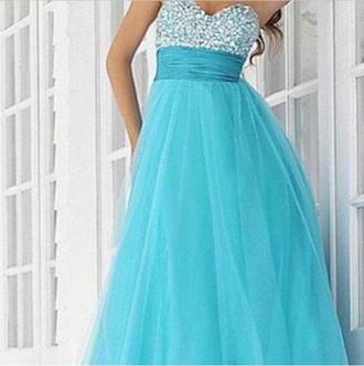 dress light blue sparkley dressy prom blue dress