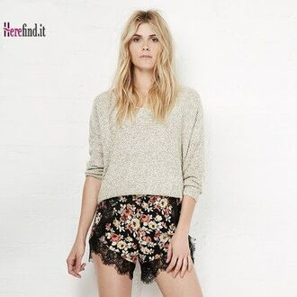 skirt floral shorts for wommen summer shorts summer women shorts sexy floral shorts splicing shorts splicing lace shorts shorts navy floral shorts. white floral short dress pink floral shorts women shorts chiffon shorts black chiffon shorts black lace shorts