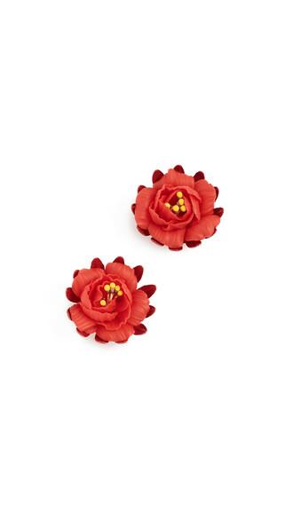 earrings fire jewels