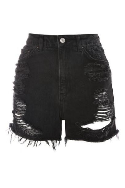 Topshop shorts black