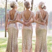 bridesmaid,sequin dress,sequins,draped,sequin gown bridesmaid  gold,dress,gold,prom dress,sparkly dress,glitter dress,gold dress,sexy dress,clothes,gold sequins dress,wedding,glitter,fashion,sexy,sequins bridesmaid dress,elegant,style,long bridesmaid dress,sparkle,dressofgirl