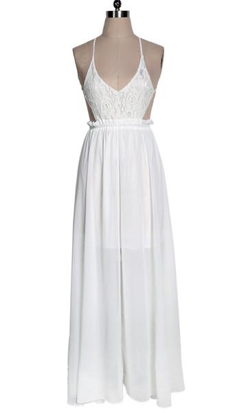Ana boho maxi dress