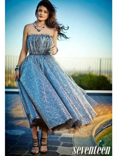 Dress Shoes Kylie Jenner Prom Dress Black Sequins Wheretoget
