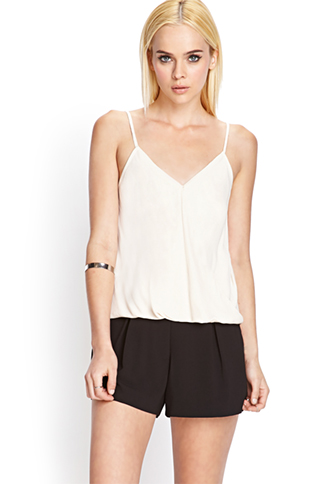 Crepe Woven Shorts | FOREVER21 - 2000069458