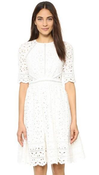 dress day dress white