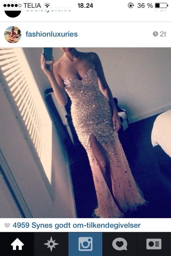 dress long prom dress glitter dress sexy party dresses