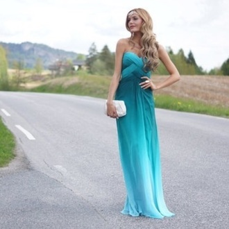 dress blue dress green dress turquoise cute summer dress