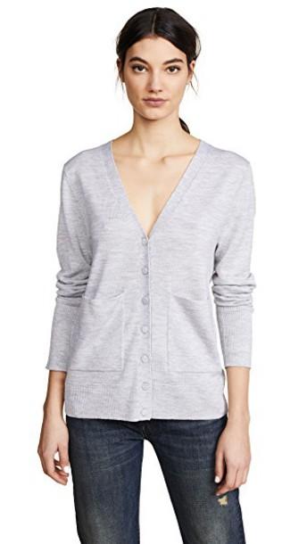 Protagonist cardigan cardigan pearl grey sweater