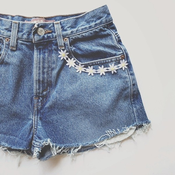 shorts High waisted shorts daisy summer