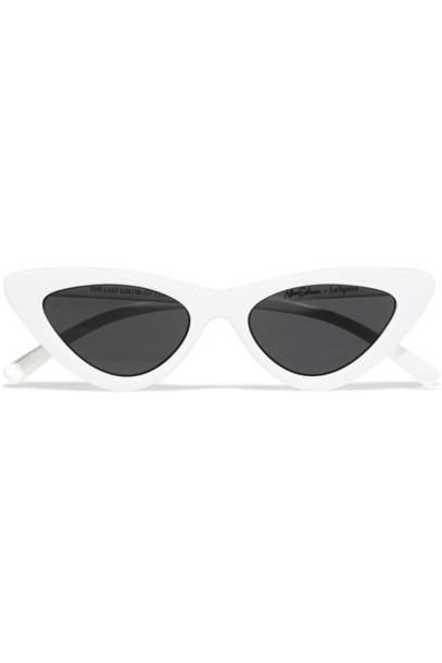 Le Specs lolita sunglasses white