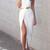 Front Split Dress