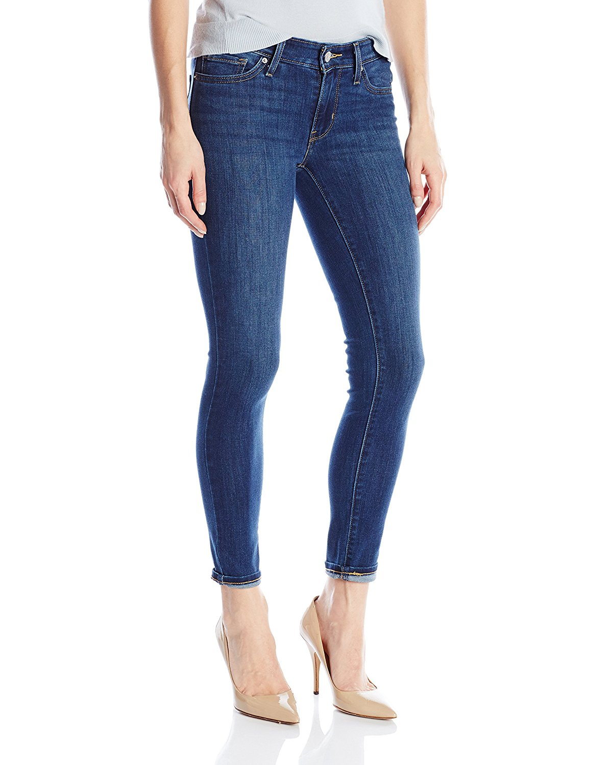 25c5df07e01 Levi's Women's 711 Skinny Ankle Jean at Amazon Women's Jeans store