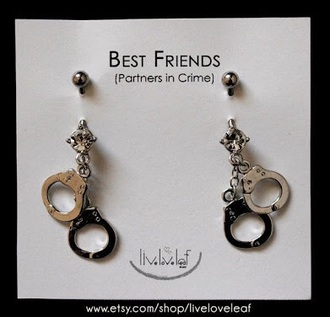 jewels partners in crime cuffs piercing belly button ring bff