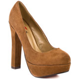 Tan suede for $75.99 direct from heels.com