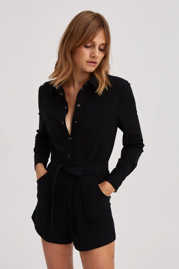 OUTLAW PLAYSUIT black