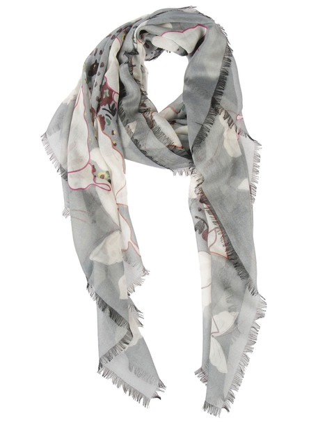 Valentino scarf grey