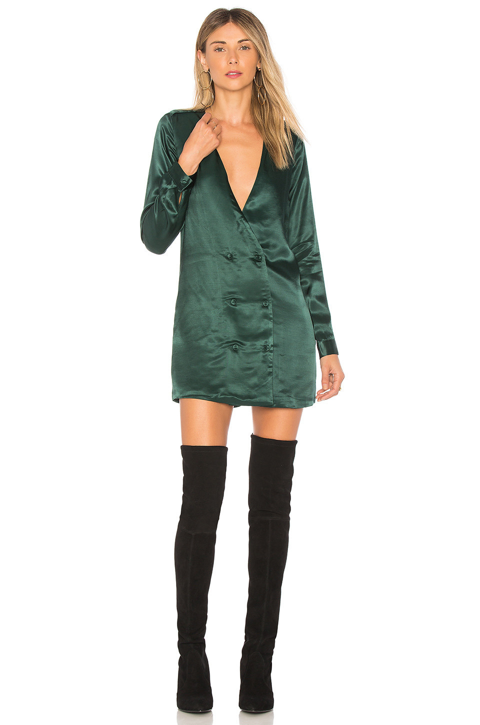 L'Academie The Cadet Dress in green