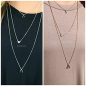jewels,gold,silver,necklace,amazinglace.com,amazinglace,wishbone,layering necklace
